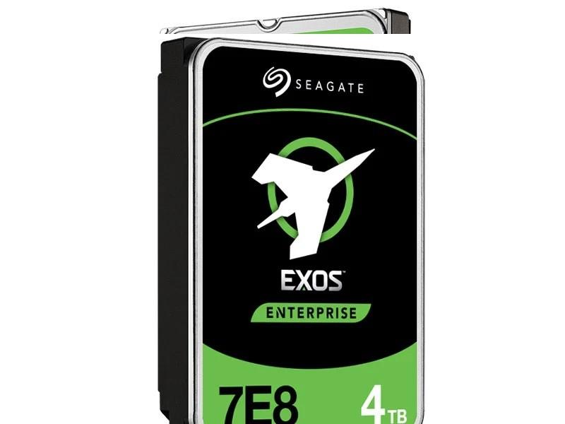 Hdd 3,5 Exos Para Servidor 4T 128Mb Cache 7200RPM Sata 6GB/s