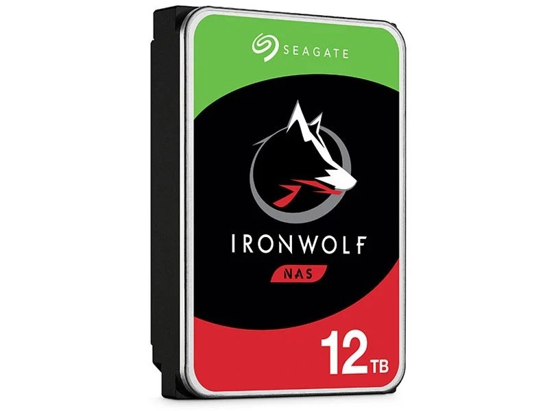 Hdd 3,5 Ironwolf Para storage e Nas Sata 12T 7200RPM 256Mb
