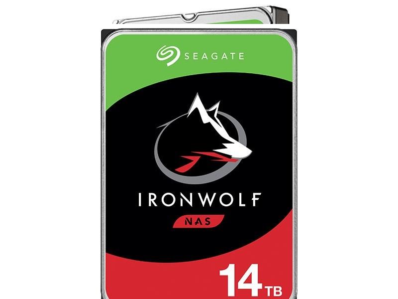 Hdd 3,5 Ironwolf Para Storage e Nas Sata 14T 256Mb 7200RPM