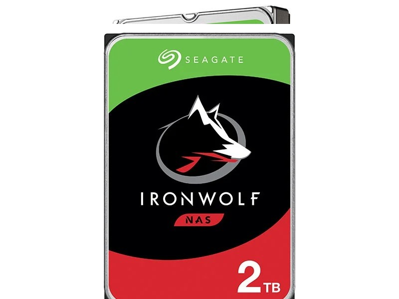 Hdd 3,5 Ironwolf Para Storage e Nas Sata 2T 64Mb 5900RPM