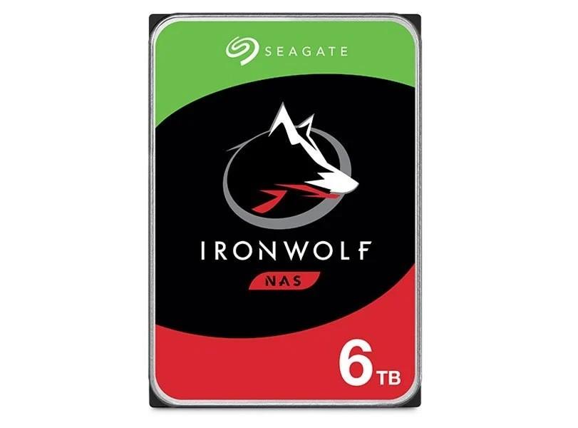 Hdd 3,5 Ironwolf Para storage e Nas Sata 6T 5900RPM 128Mb
