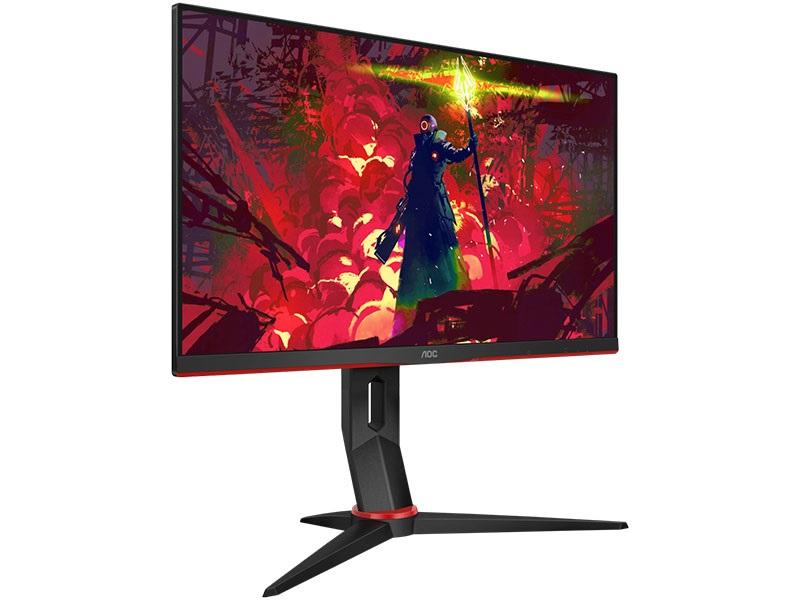 Monitor Gamer AOC 24G2/BK 23.8 Led FullHd IPS 144Hz 1Ms AMD