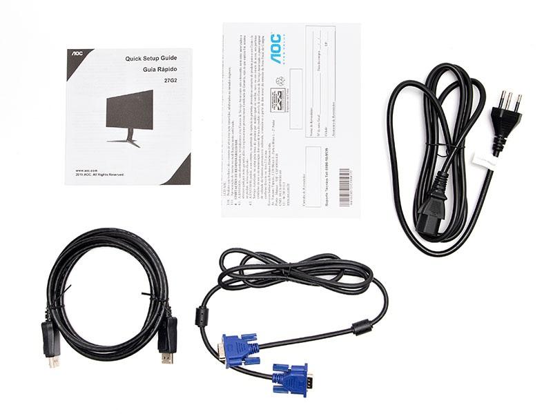 Monitor Gamer AOC 27G2/BK 27 Fullhd Ips 1Ms 144Hz C/Nividia