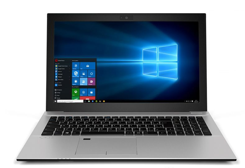 Notebook Vaio F15 Metal I7-8550U 8Gb 256Gb Ssd 15.6 Fullhd