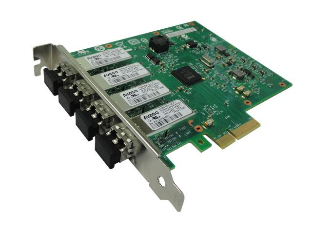 Placa de Rede Intel 4 Portas Fiber Channel 1Gibit Pcie