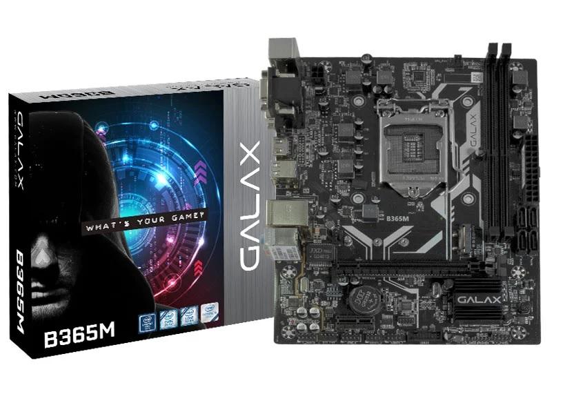 Placa Mãe Galax Desktop Lga1151 B365M Matx Ddr4 2666Mhz 9ºGe