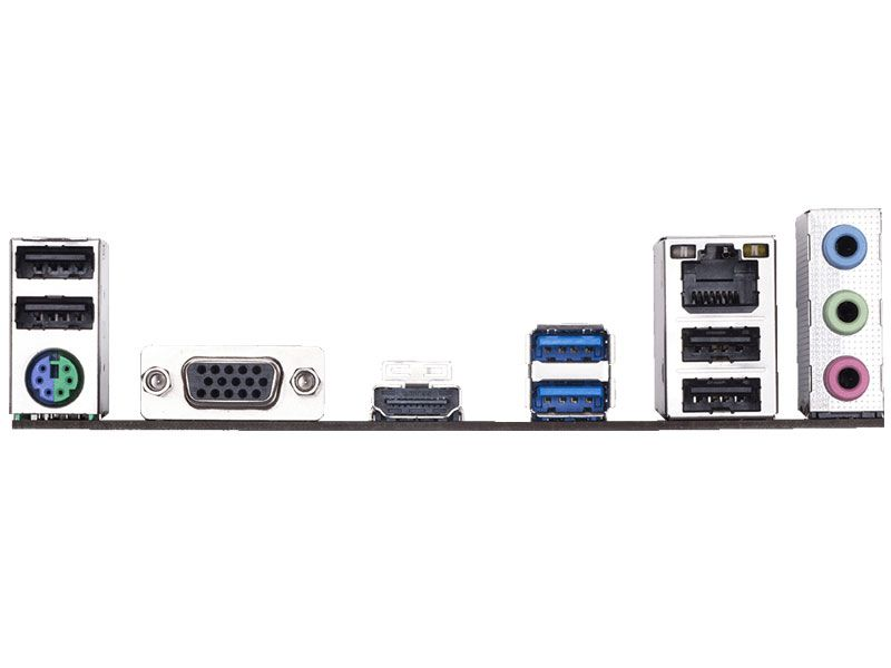 Placa Mae LGA1151 Intel H310M M.2 2.0 Ddr4 2666MHZ Usb 3.1