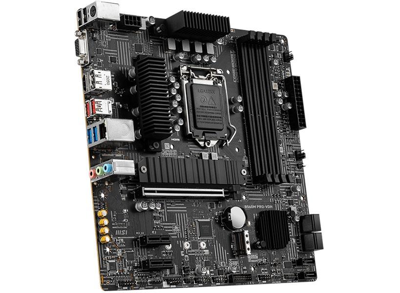 Placa Mãe LGA1200 MSI B560M Pro-VDH Ddr4 5066Mhz 10ºe11ºG