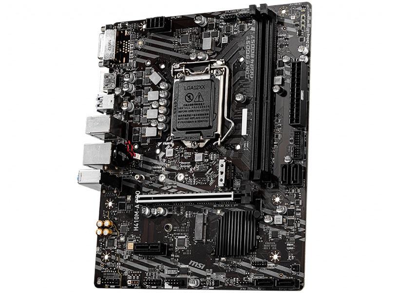 Placa Mãe LGA1200 MSI H410M-A Pro Matx Ddr4 2933Mhz 10ºGera