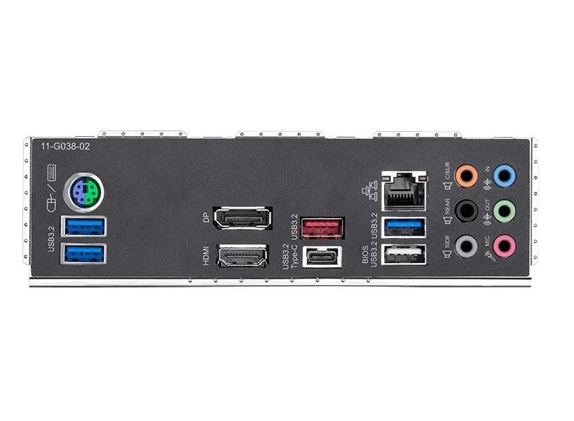 Placa Mãe Lga1200 Z490M Gaming X M-Atx Ddr4 5000Mhz M.2