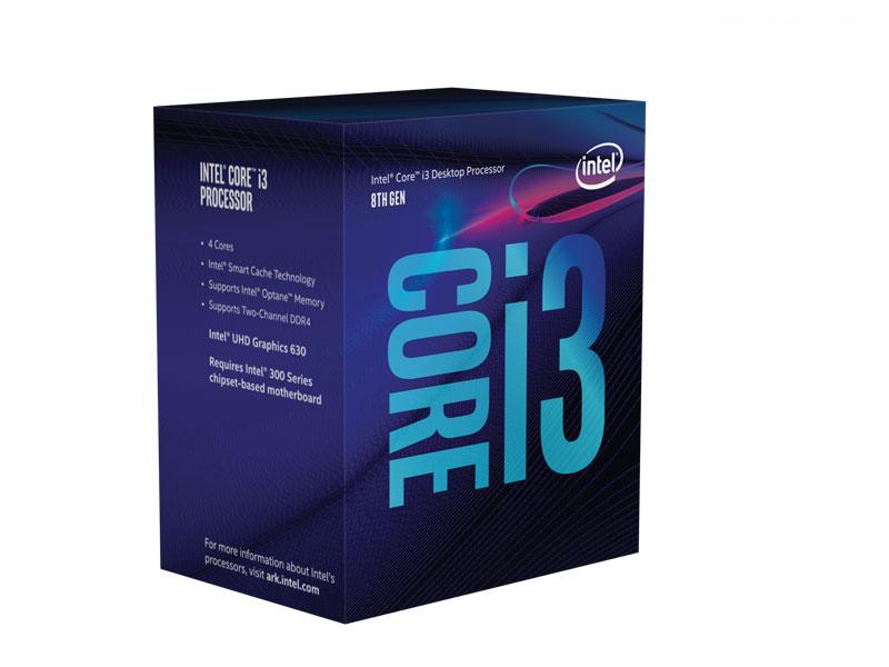 Processador Lga 1151 Quad Core I3-8100 6Mb Graf UHD 8Ger
