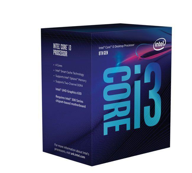 Processador Lga 1151 Quad Core I3-8300 3.70Ghz 8Mb  8Ger