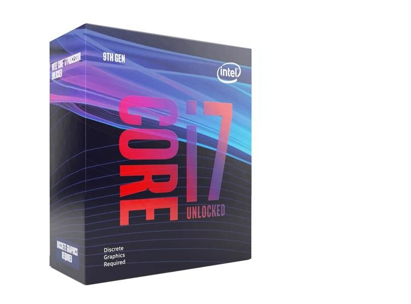 Processador Octa Core I7-9700KF 3.6Ghz 9Ger S/Cooler e Video