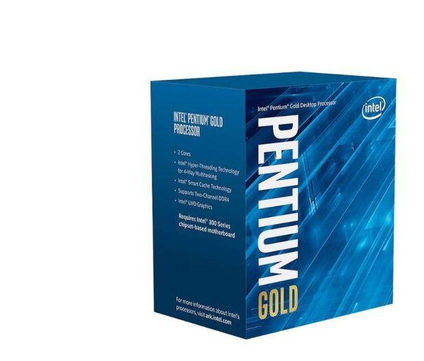 Processador Pentium Lga 1151 Intel Gold G5400 3.7Ghz 4Mb