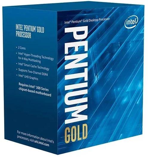 Processador Pentium lga 1200 Gold G6400 4,00Ghz C\V 10 Gera