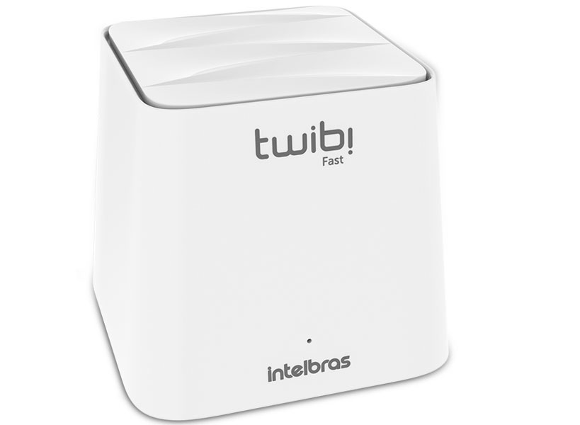 Rotador Wireless Intelbras 4750070 Mesh Twibi Fast 2,4Ghz