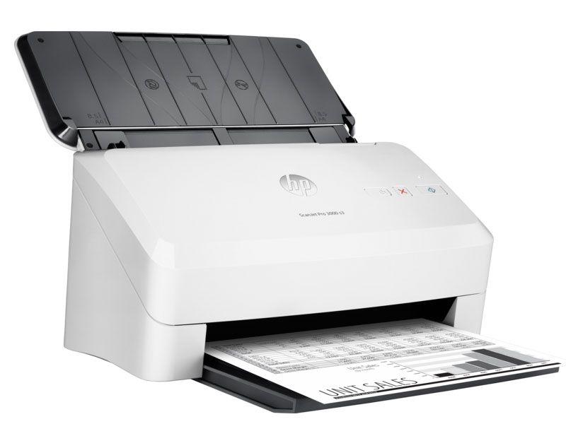 Scanner Hp Scanjet Profissional 3000 S3 Adf Duplex