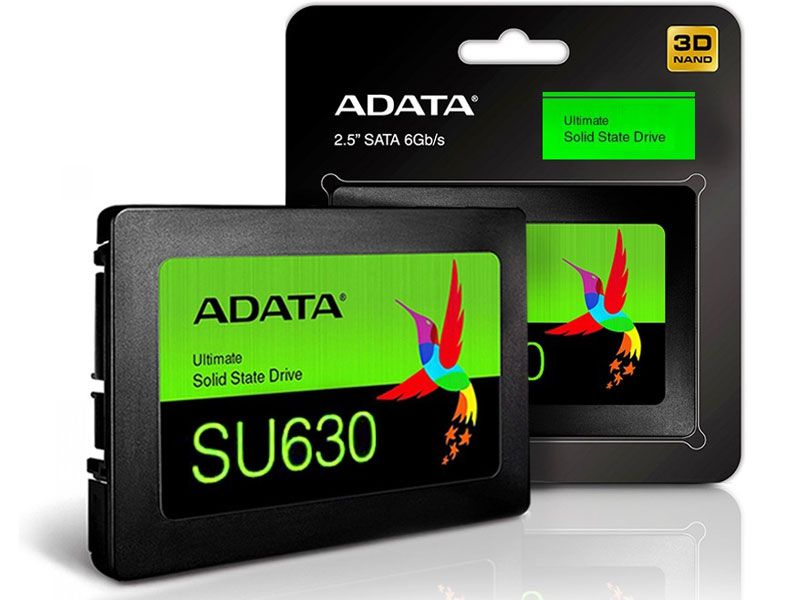 Ssd Desktop Notebook Sata Adata SU630 960Gb 2.5 Sata III