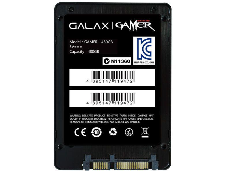 Ssd Gamer  Galax  480Gb Sata 6Gb/S
