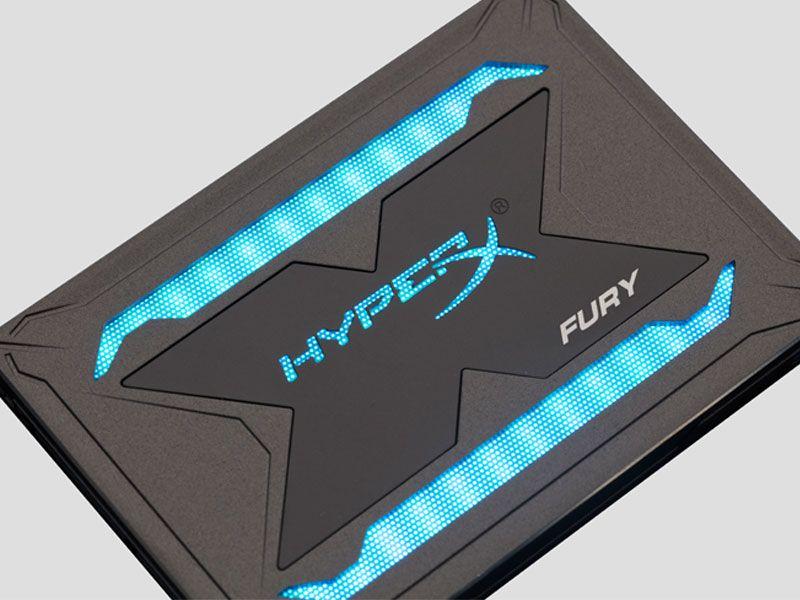 Ssd Gamer Hyperx Fury 960Gb 2.5 RGB Sata III