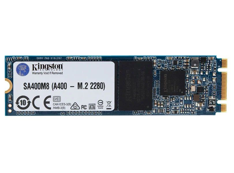 Ssd M.2 Desktop Notebook Kingston A400 480Gb Flash Nand