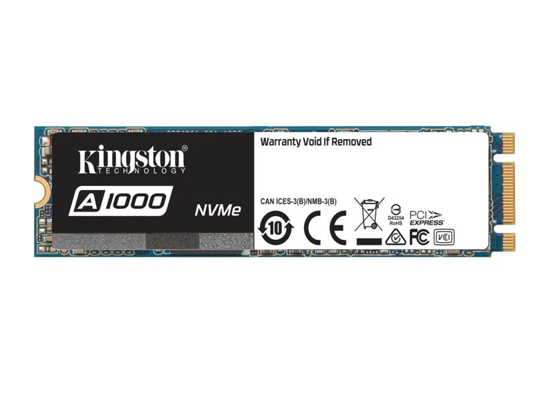 Ssd Pcie Desktop Notebook Kingston A1000 480Gb M.2 2280 Nvme