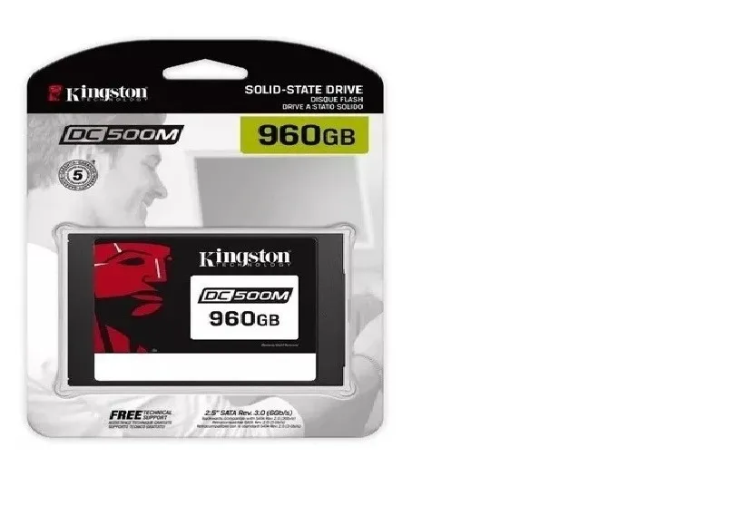 Ssd Sata Servidor Kingston Dc500M 960Gb 2.5 Sata III 6Gb/s