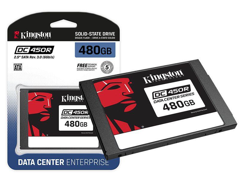 Ssd  Servidor Kingston Enterprise Dc450R 480Gb 2.5 SataIII