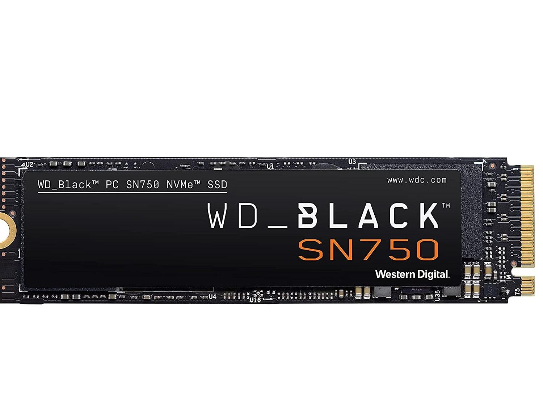 ssd Wd 1Tb Black M.2 2280 Sn750 Nvme Pcie Wds100t3x0c