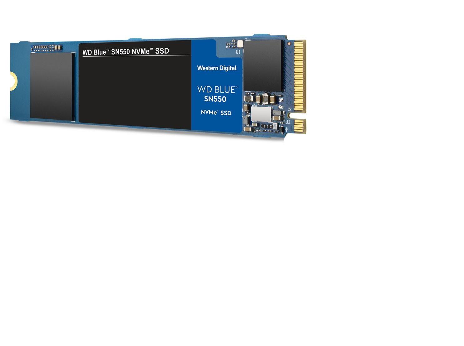Ssd Wd 250Gb Blue M.2 2280 Sn550 Nvme Pcie Wds250g2b0c