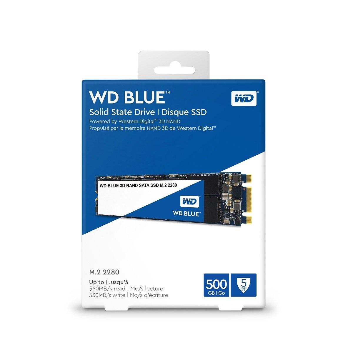 Ssd Wd 500gb Blue M.2 2280 Sata3 Wds500g2b0b