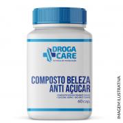 COMPOSTO BELEZA ANTI AÇUCAR - EXSYNUTRIMENT 150MG + GLYCOXIL 100MG + BIO-ARCT 100MG 60 CÁPSULAS