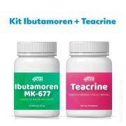 Ibutamoren 60 cápsulas  + Teacrine 30 cápsulas
