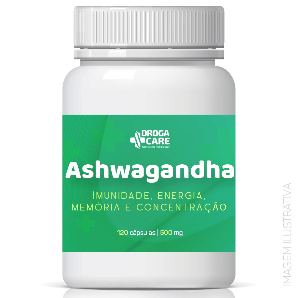 Ashwagandha 500mg 120 cápsulas