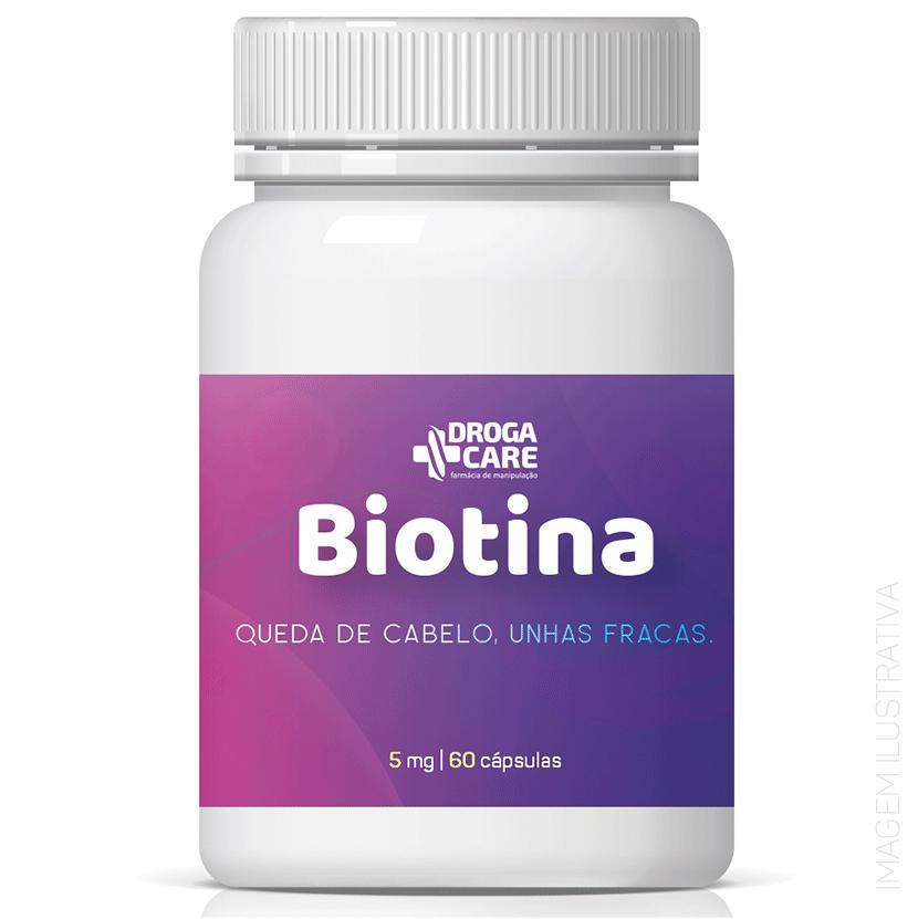 Biotina  5mg 30 Cápsulas