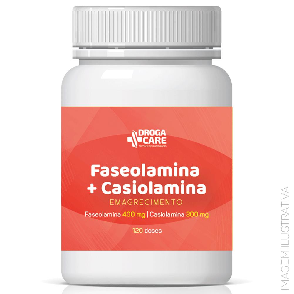 Faseolamina 400mg + Casiolamina 300mg 120 doses