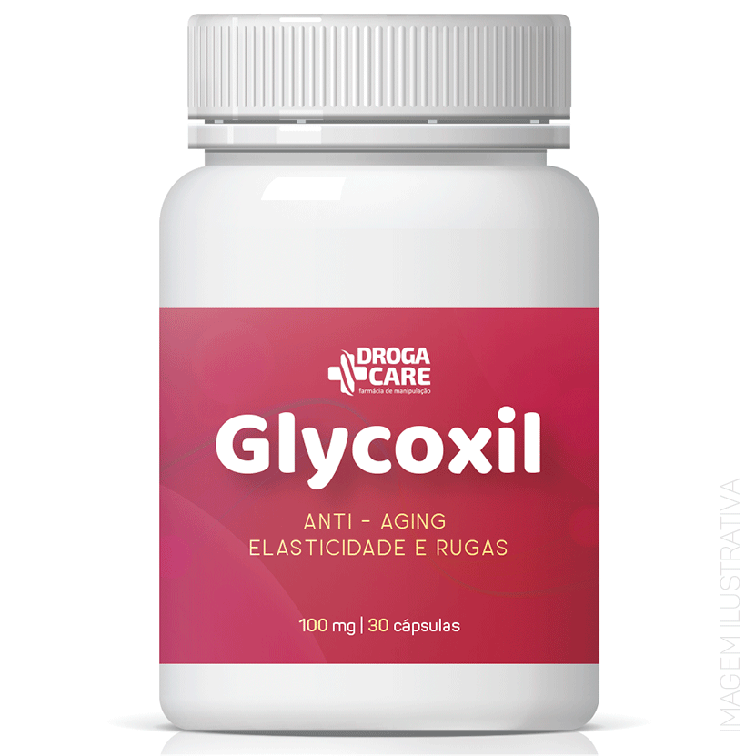 Glycoxil 100mg 30 Cápsulas