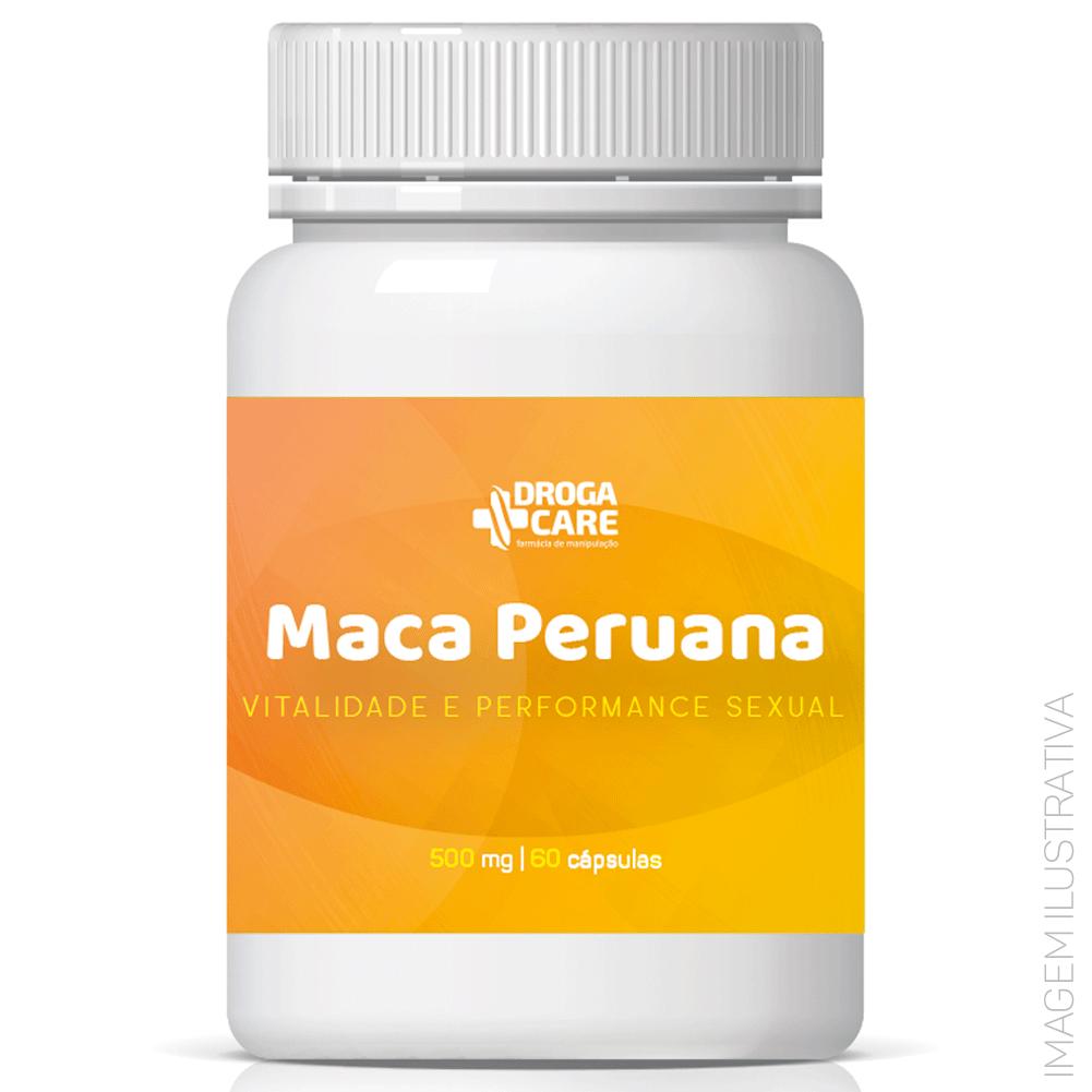 Maca Peruana 500mg 60 Cápsulas