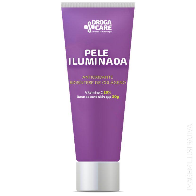 Pele Iluminada  - Vitamina C 20%  Estoque Limitado