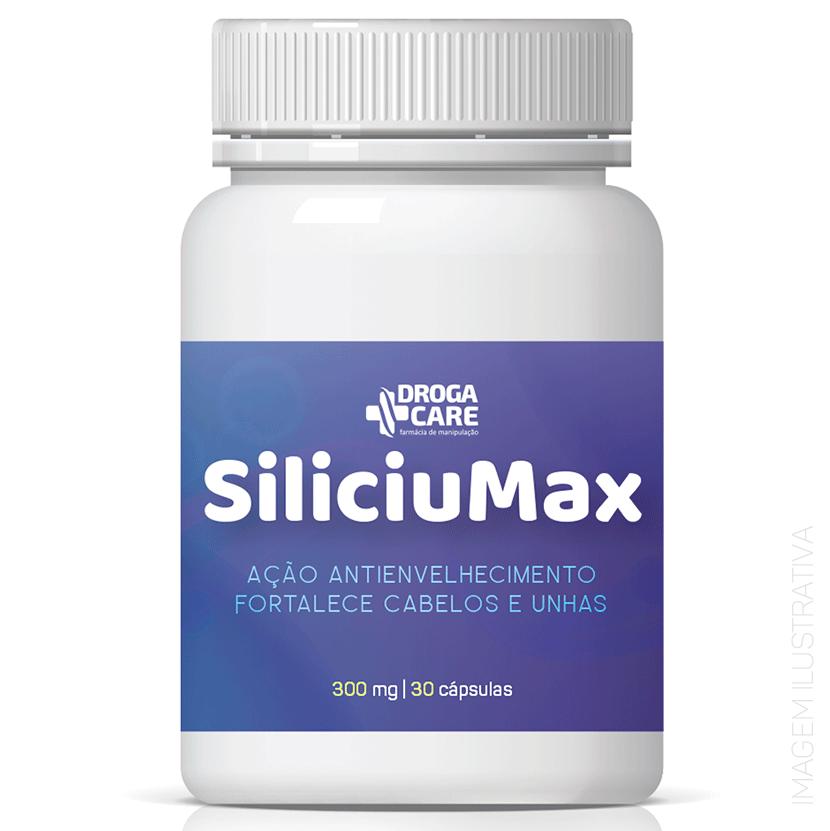 SiliciuMax 300mg 30 Cápsulas