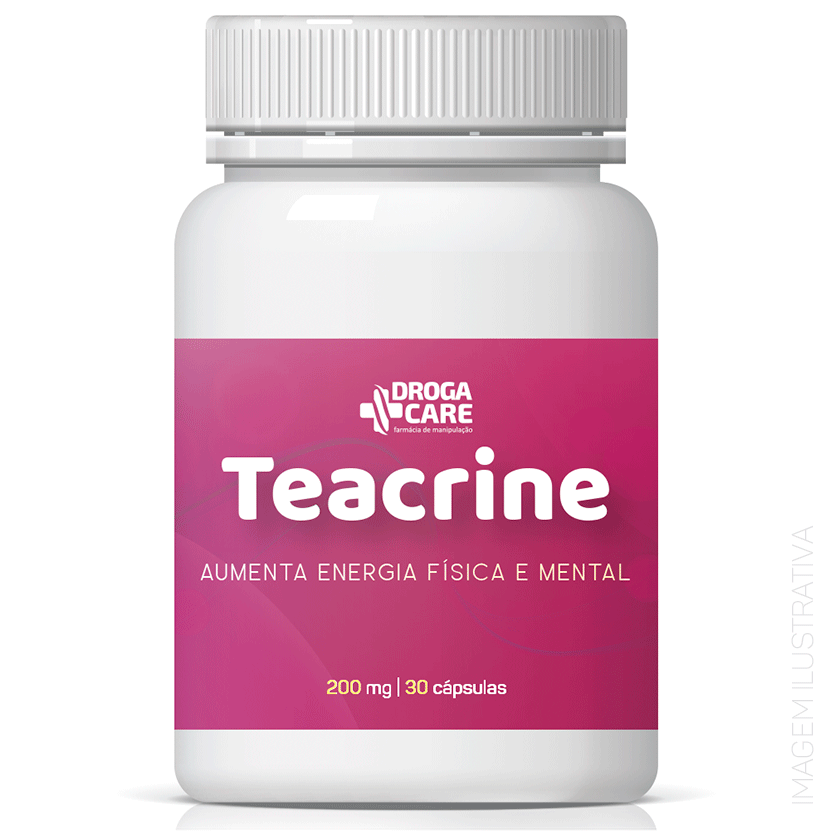 Teacrine 200mg 30 Cápsulas