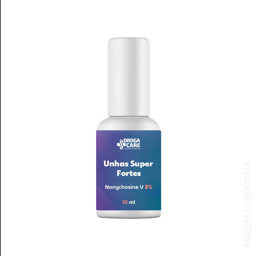Unhas Super Fortes -  Nonychosine V 3%