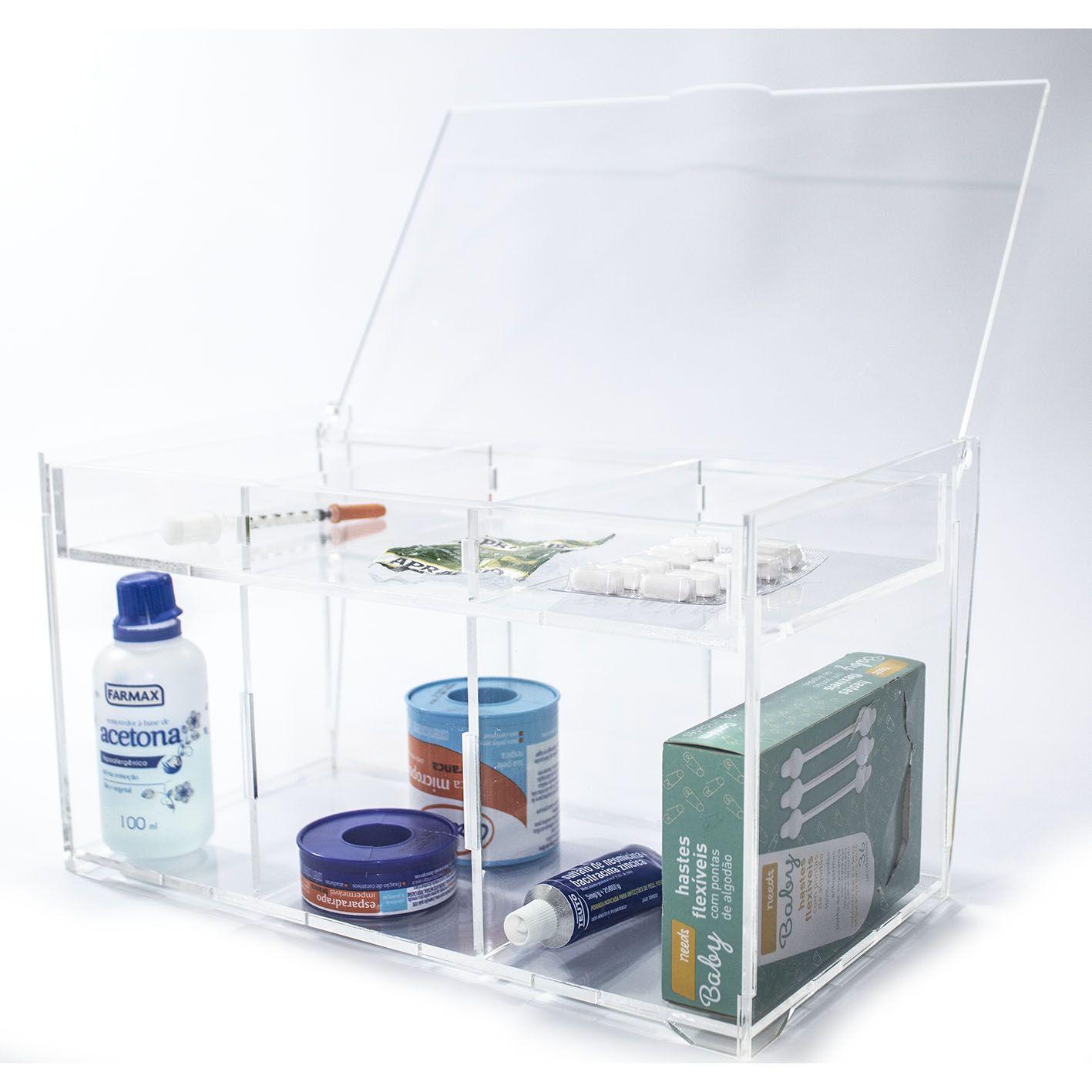 Caixa Organizadora Remédios