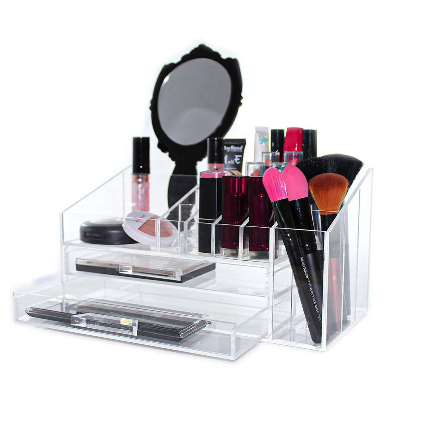 Organizador de Maquiagem Compacto