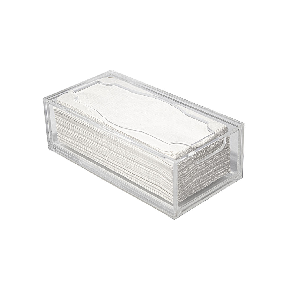 Toalheiro Acrílico Comercial com gaveta para Toalhas de papel Padrão