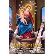 Santinhos da Oração do Santo Rosário - Milheiro