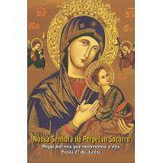 Santinhos de Nossa Senhora do Perpétuo Socorro - Milheiro