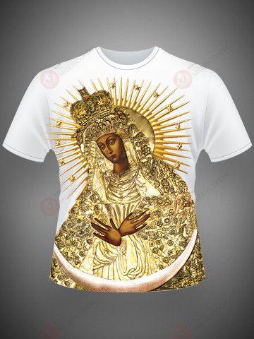 Camiseta Mãe de Misericórdia  - Ruah Artigos Católicos
