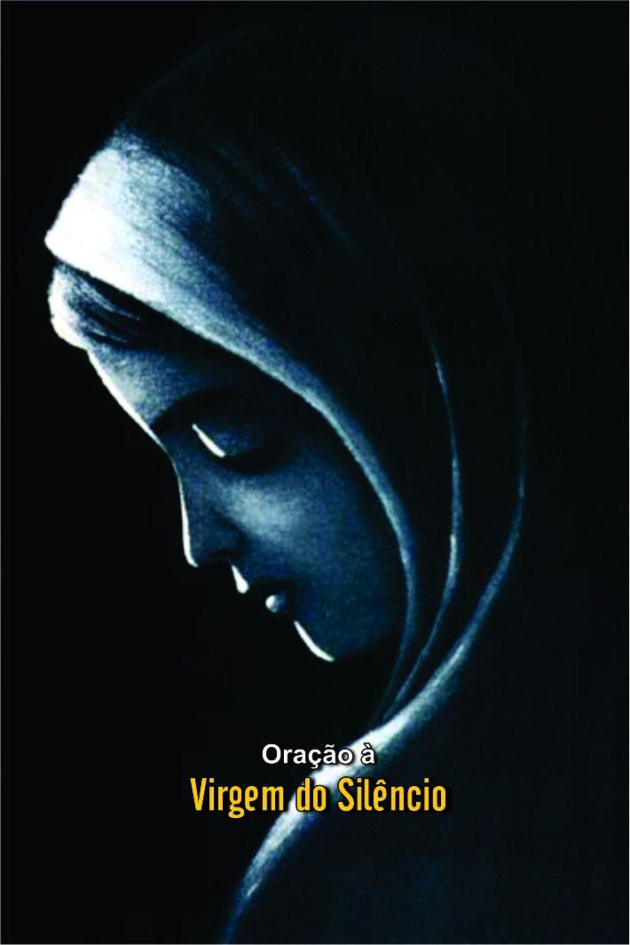 Santinhos da Oração à Virgem do Silêncio - Milheiro  - Ruah Artigos Católicos