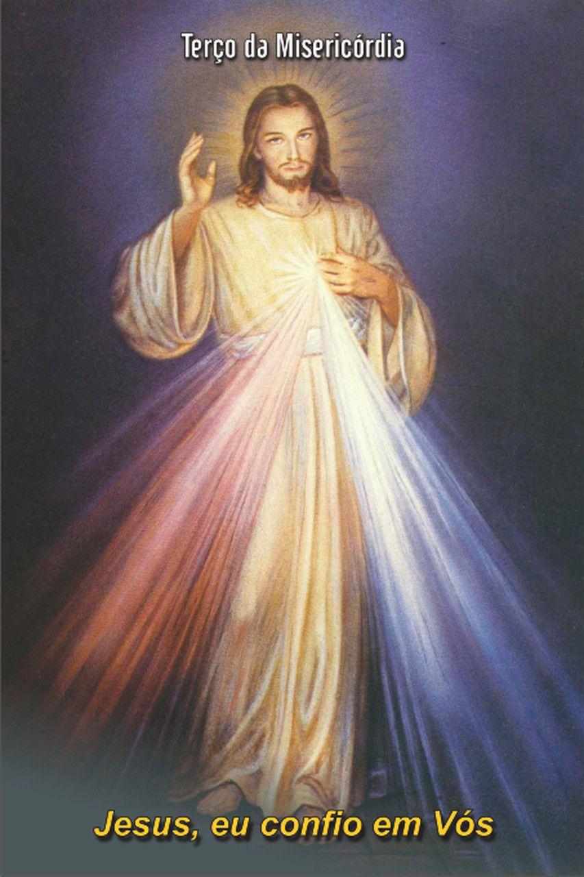 Santinhos de Jesus Misericordioso - Milheiro  - Ruah Artigos Católicos